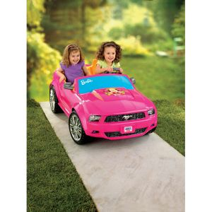 Barbie Ford Mustang